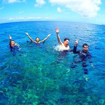 石垣島のきれいな海