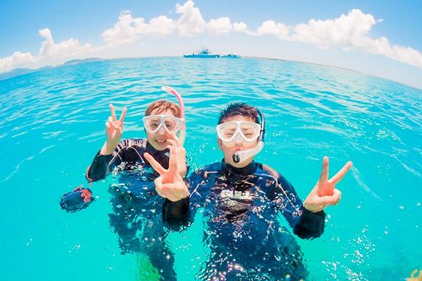 石垣島でシュノーケルデートを楽しもう
