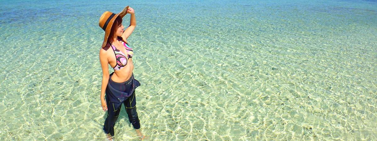 ダイビングやシュノーケリングの安全