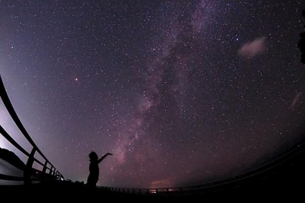石垣島のキレイな星空