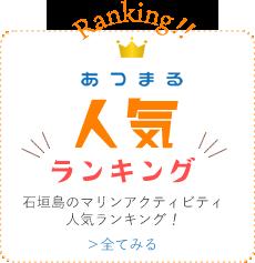 石垣島マリンアクティビティ人気ランキング