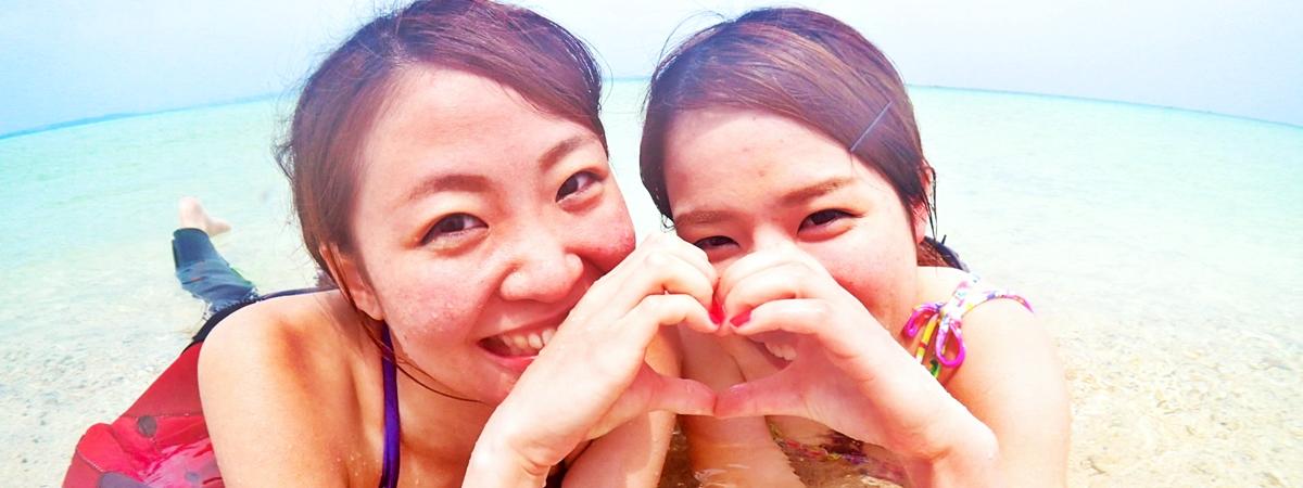 【石垣島発】幻の島上陸&体験ダイビング