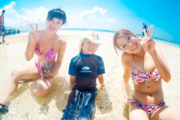 石垣島でシュノーケリング体験