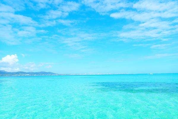 石垣島キレイな海